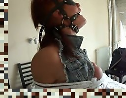 blindfolded wife